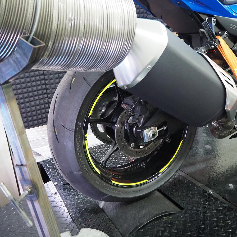ライドウィン エンジンパワーチェック